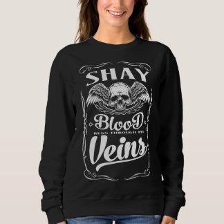 Moletom Equipe SHAY - T-shirt do membro de vida