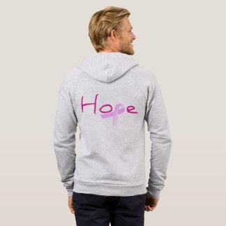 Moletom Esperança para o Hoodie da consciência do cancro