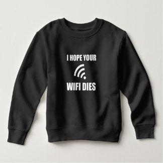 Moletom Espere seus dados de Wifi