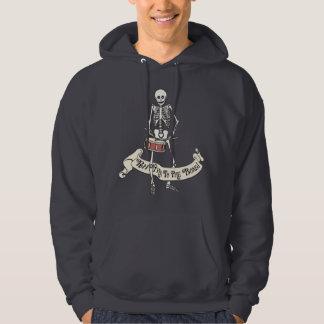 Moletom Esqueleto de marcha do cilindro de Snare
