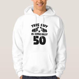 Moletom Esta cara é oficialmente 50 anos de 50th