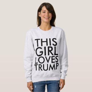 Moletom ESTA MENINA AMA t-shirt de DONALD TRUMP