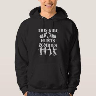 Moletom Esta menina caça zombis