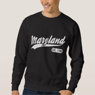 Moletom Estado de Maryland