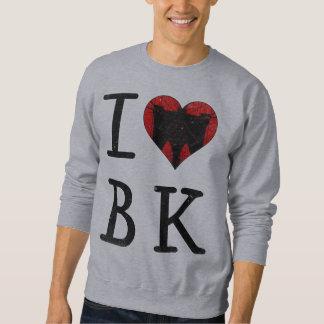 Moletom Eu amo a camisola de Brooklyn BK NYC