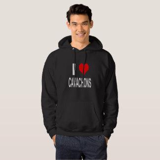 Moletom Eu amo Cavachons, cão