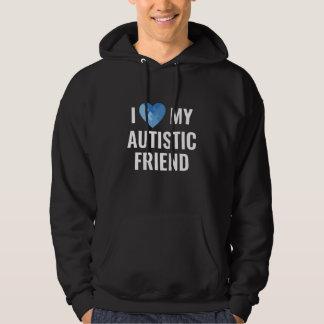 Moletom Eu amo meu amigo autístico