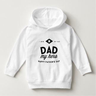 Moletom eu amo meu pai