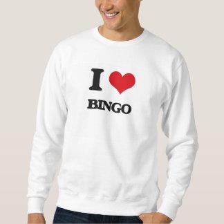 Moletom Eu amo o Bingo