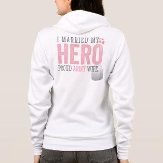 Moletom Eu casei meu herói