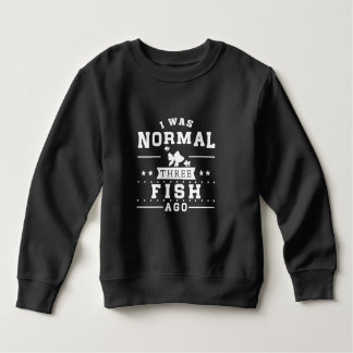 Moletom Eu era três peixes normal há