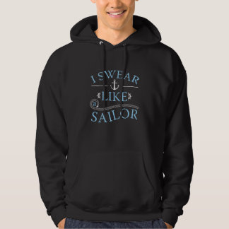Moletom Eu juro como um marinheiro