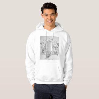 Moletom Eu não sou um hoodie do mentiroso