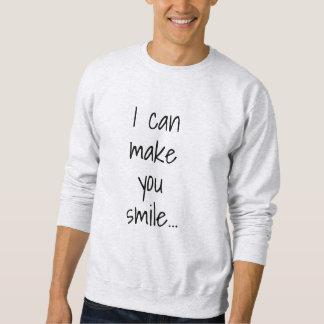 Moletom Eu posso fazê-lo sorrir homens Flirty