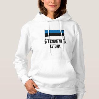 Moletom Eu preferencialmente estaria em Estónia