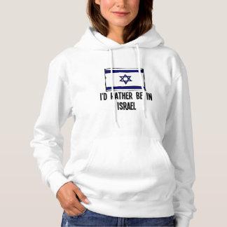 Moletom Eu preferencialmente estaria em Israel