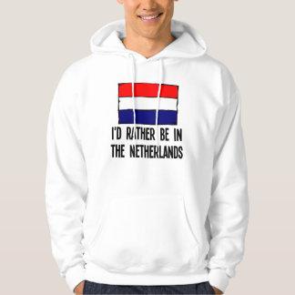 Moletom Eu preferencialmente estaria nos Países Baixos