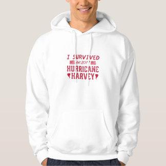 Moletom Eu sobrevivi ao furacão Harvey