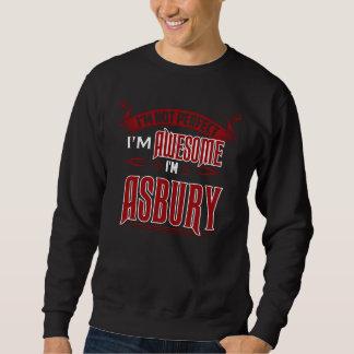 Moletom Eu sou impressionante. Eu sou ASBURY. Presente