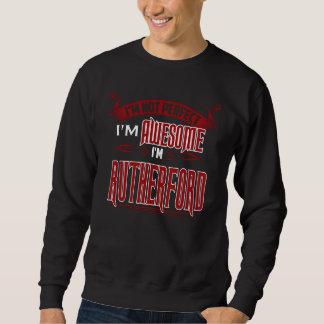 Moletom Eu sou impressionante. Eu sou RUTHERFORD. Presente