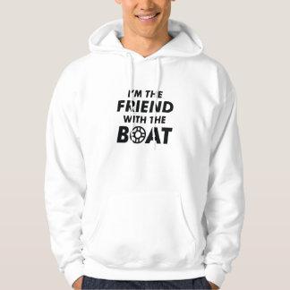 Moletom Eu sou o amigo com o barco