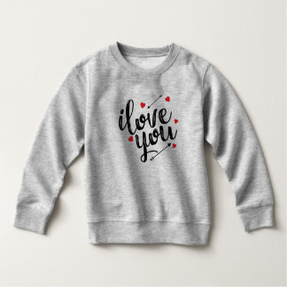 Moletom Eu te amo camisola simples dos namorados |