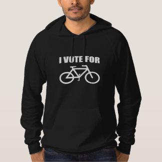 Moletom Eu voto para a bicicleta