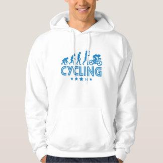 Moletom Evolução retro do ciclismo