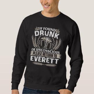 Moletom Excelente a ser t-shirt de EVERETT