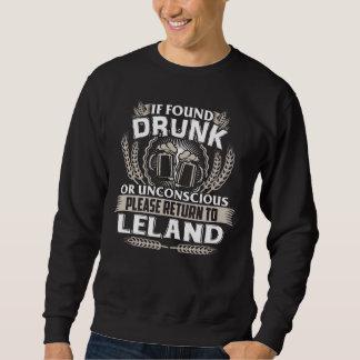 Moletom Excelente a ser t-shirt de LELAND