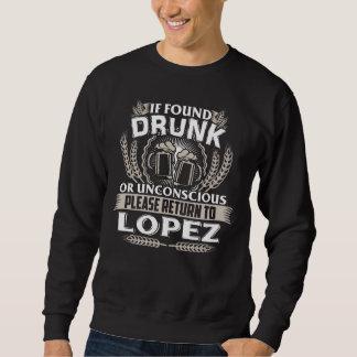 Moletom Excelente a ser t-shirt de LÓPEZ