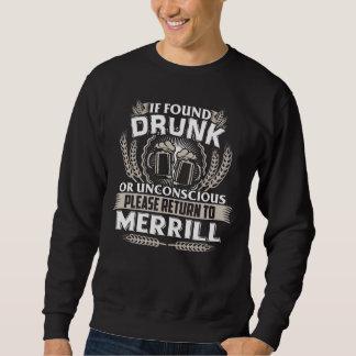 Moletom Excelente a ser t-shirt de MERRILL