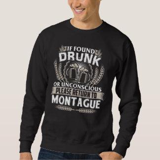 Moletom Excelente a ser t-shirt de MONTAGUE