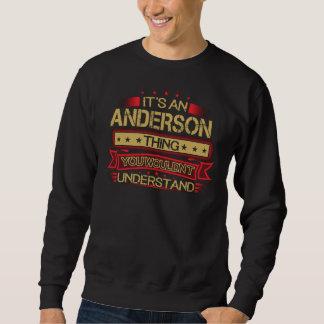 Moletom Excelente a ser Tshirt de ANDERSON