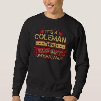 Moletom Excelente a ser Tshirt de COLEMAN