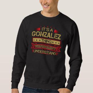 Moletom Excelente a ser Tshirt de GONZALEZ