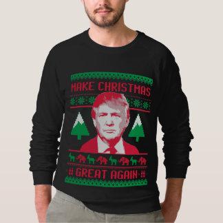 Moletom Faça o excelente do Natal outra vez
