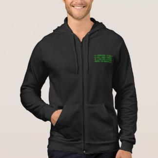 Moletom Faça seu próprio hoodie binário