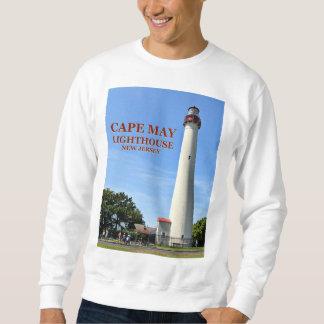 Moletom Farol de Cape May, camisola de New-jersey