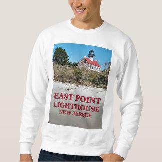 Moletom Farol do leste do ponto, camisola de New-jersey