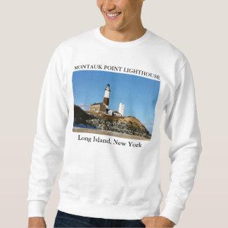 Moletom Farol do ponto de Montauk, Long Island New York