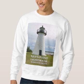 Moletom Farol do ponto de Neds, Mattapoisett Massachusetts
