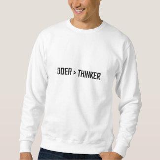 Moletom Fazedor maior do que o pensador
