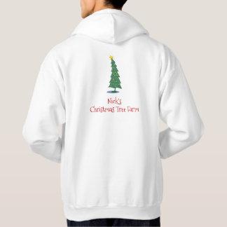 Moletom Fazenda de árvore do Natal