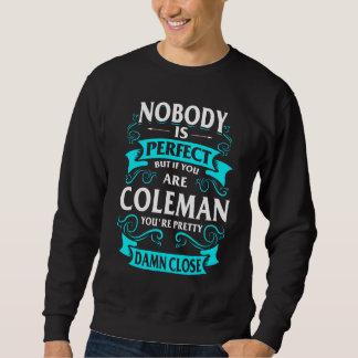 Moletom Feliz ser Tshirt de COLEMAN