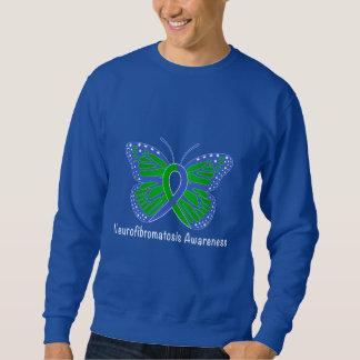 Moletom Fita da consciência da borboleta do