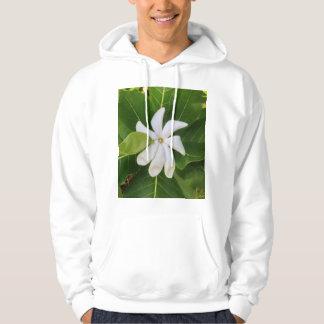 Moletom Flor havaiana do jasmim de Pikake