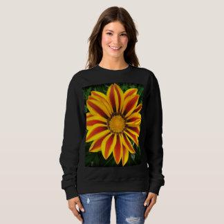 Moletom Foto alaranjada bonita da flor de Sun