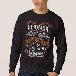 Moletom Funcionamentos do sangue de HERMANN com meu Veius