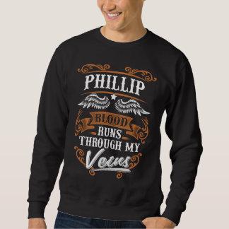 Moletom Funcionamentos do sangue de PHILLIP com meu Veius